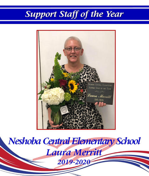 Image of Laura Merrit - District Support Staff of the Year