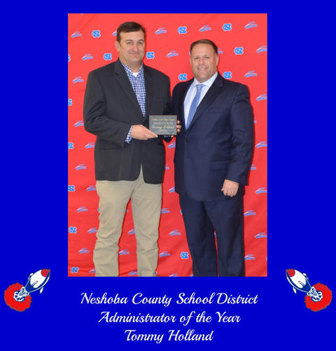 Image of Tommy Holland - District Adminsitrator of the Year
