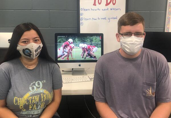 Digital Media students produce hype video