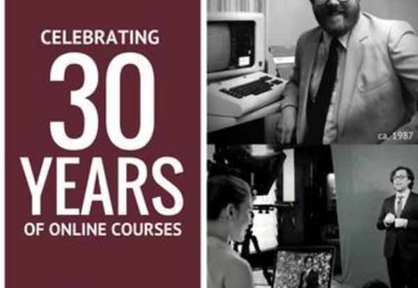 University Celebrates 30 Years of Online Course Delivery
