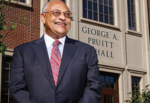 University Renames Newest Building George A. Pruitt Hall