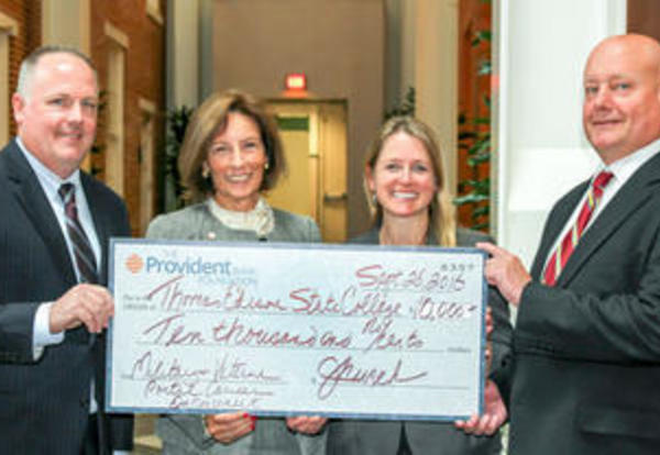 University Foundation Receives $10,000 Grant from The Provident Bank Foundation