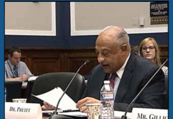 Dr. Pruitt Testifies Before the House Committee on Education and the Workforce