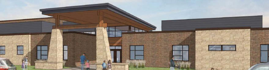 Forest Grove Elementary Building Render