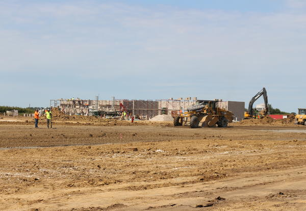 Walls Go Up at Forest Grove