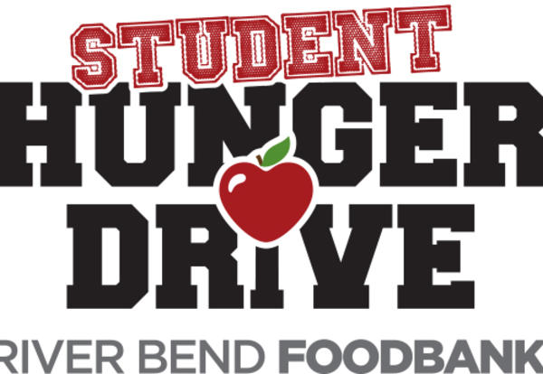 student hunger drive graphic