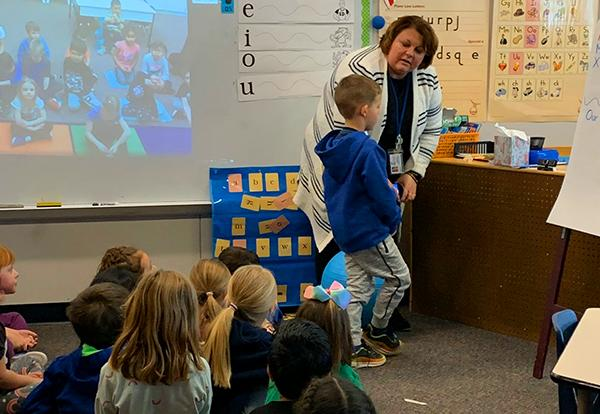 Social Media Connects Kindergartners with Canada