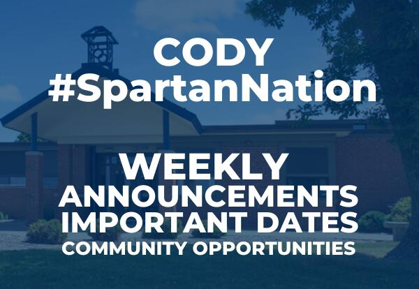 Cody #SpartanNation Graphic