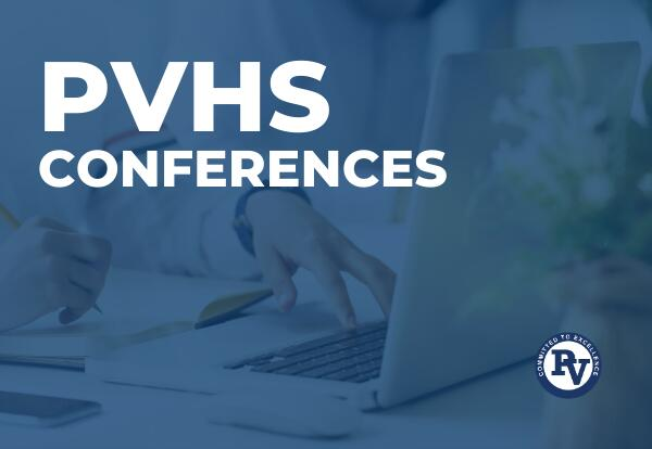 pvhs conferences graphic