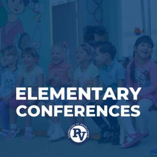 ELEMENTARY CONFERENCES Graphic
