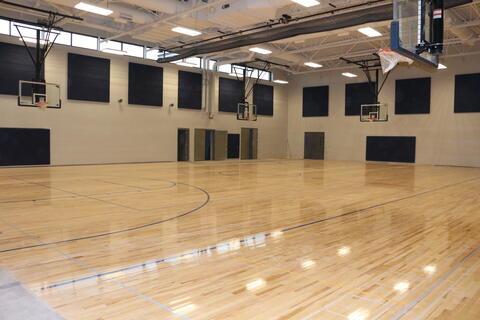 Gym Floor Finished
