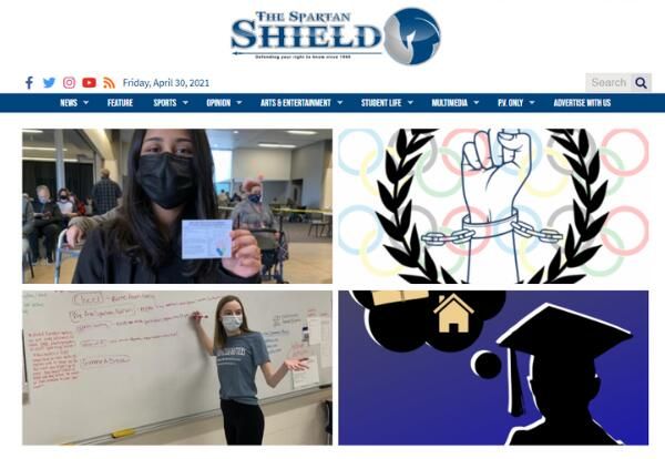 Spartan Shield Home Page