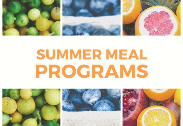 Summer Meal Program Graphic