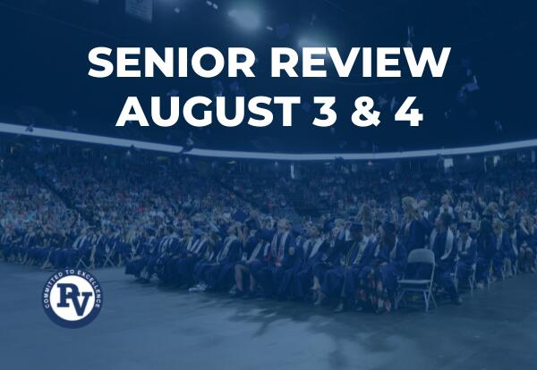 PVHS Senior Review Graphic