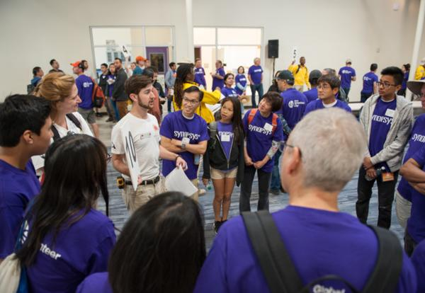 Synopsys Takes Our New Campus