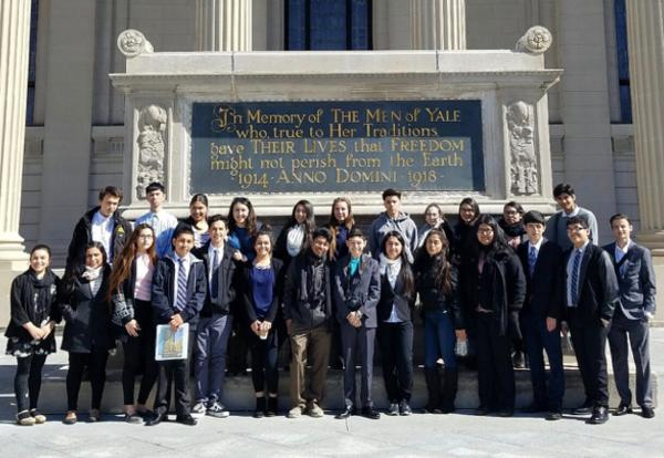 DCP Students Explore East Coast Colleges