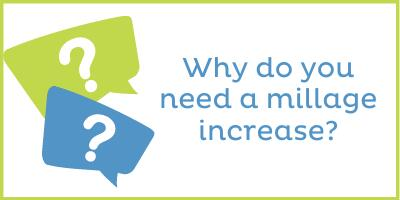 Why do you need a millage rate increase?