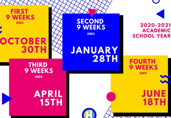 Academic Calendar graphic