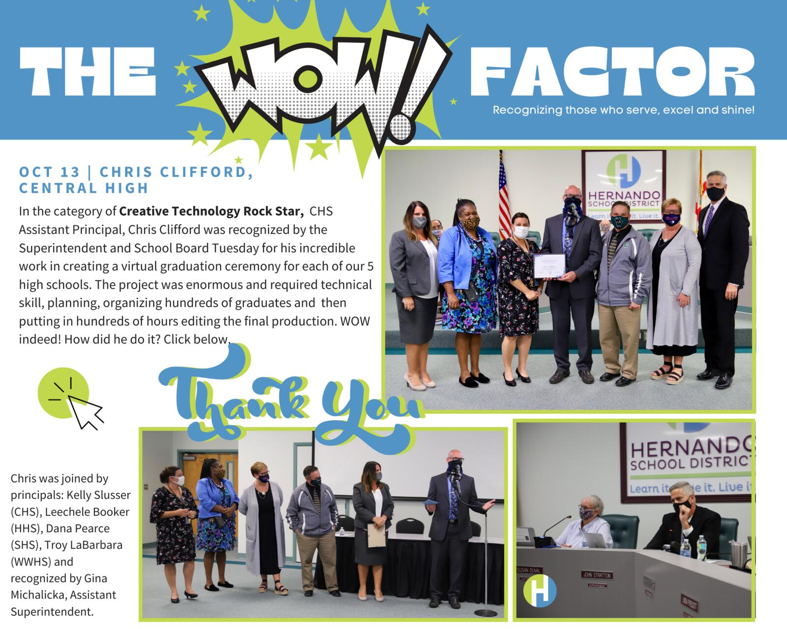 The WOW Factor - Cot. 13 - Chris Clifford