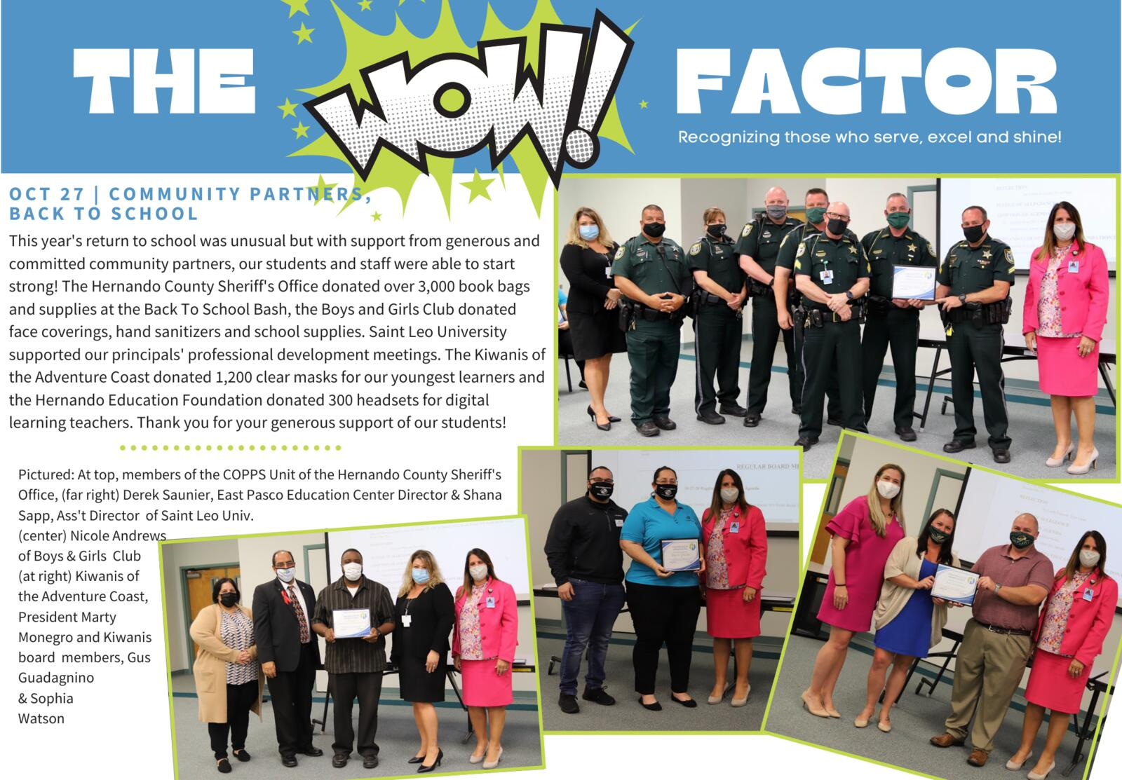 The WOW Factor - Oct 27 - Community Partners