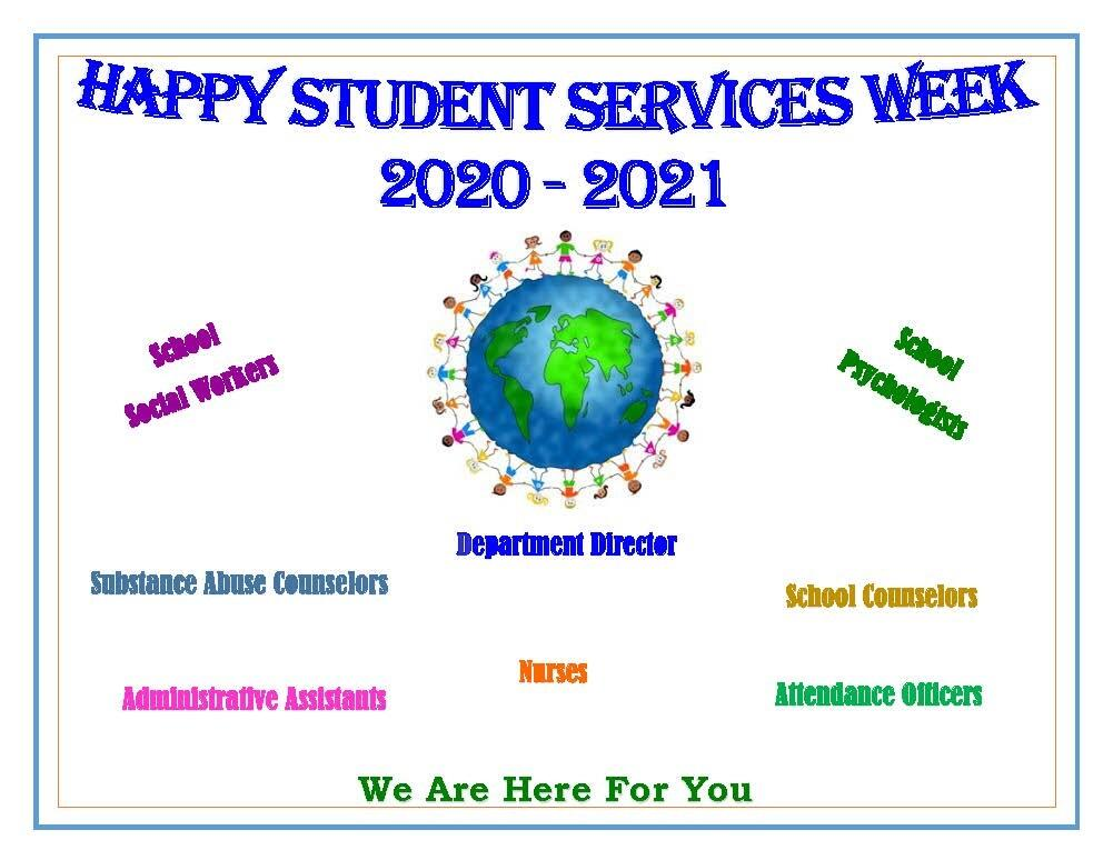 Student Services Week Flyer