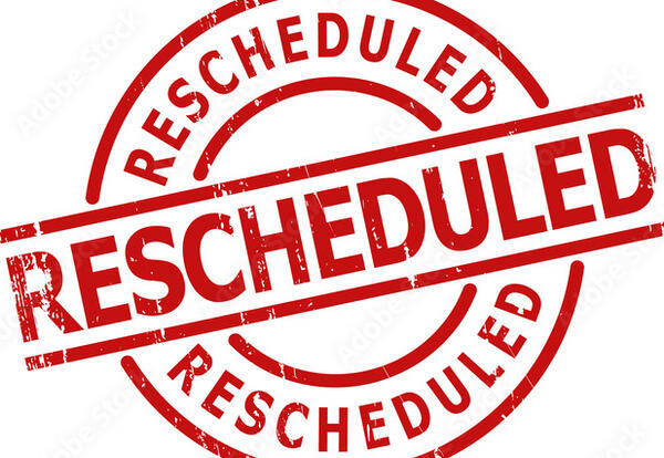 First Public Budget Hearing - Rescheduled