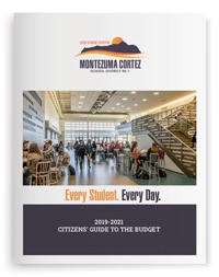 Cover of the Citizen's Guide to the Budget document