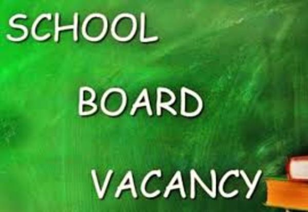 District announces vacancy for board district G