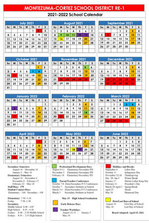 Download button for 2020-2021 District Calendar
