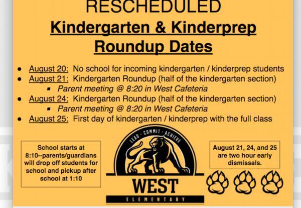 Kindergarten Roundup 2020