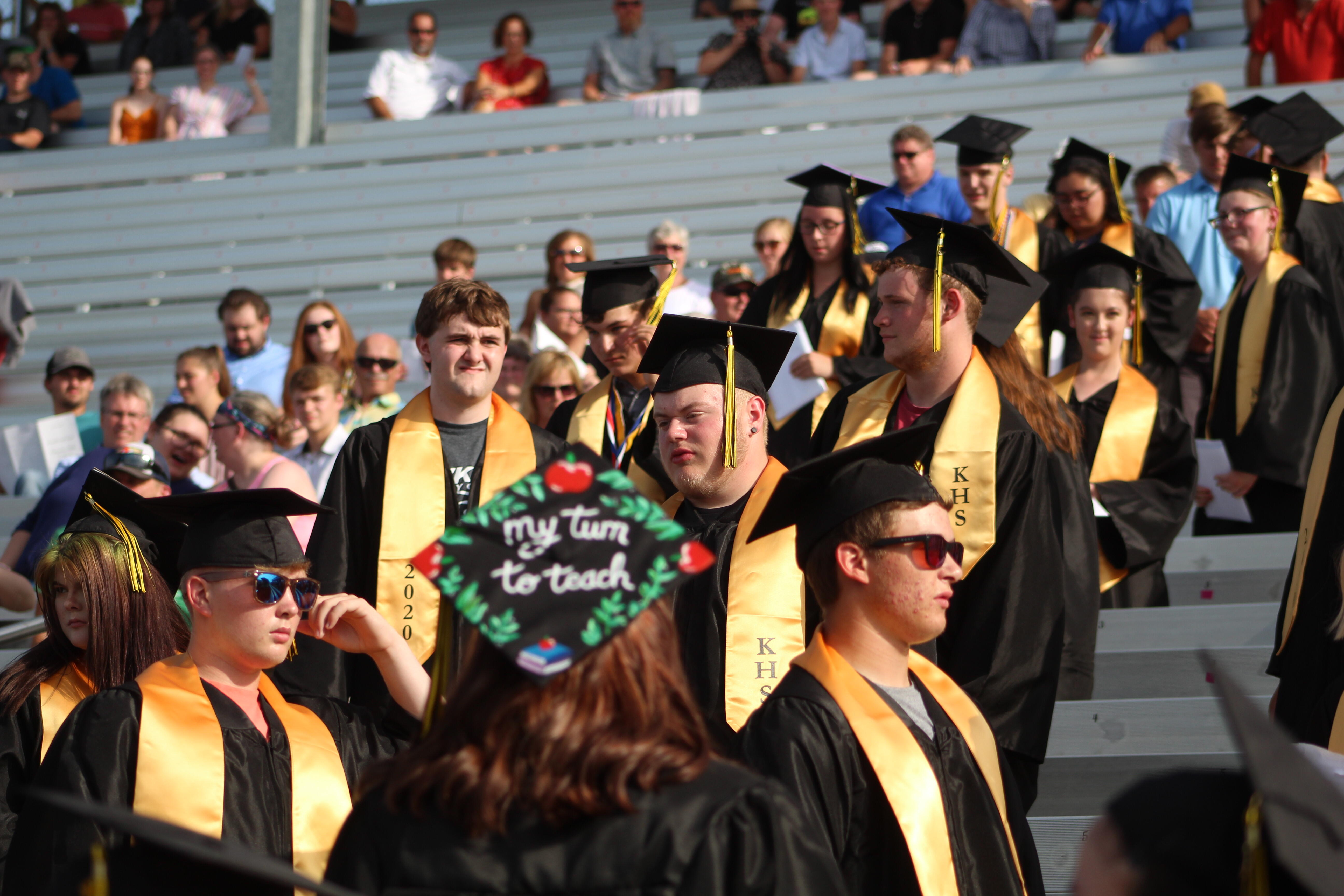 Graduation 2020 at Knoxville Raceway