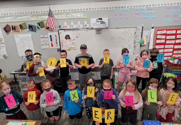 West Elementary Students Thank Knoxville Hospital ER Staff