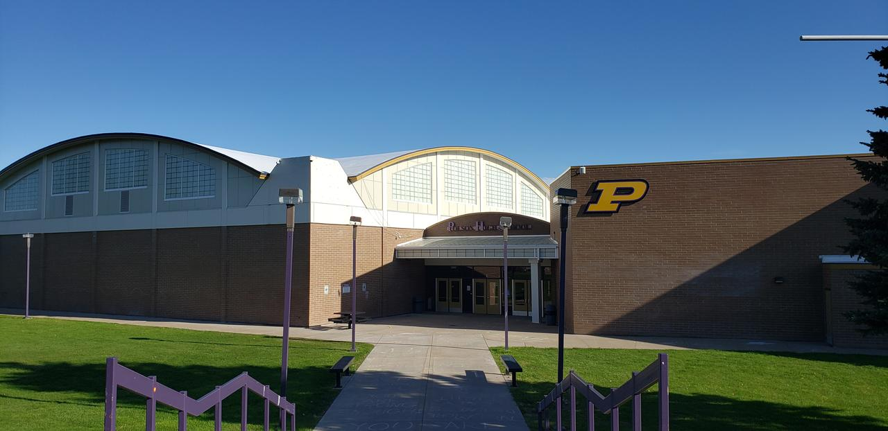 Polson High School Entrance