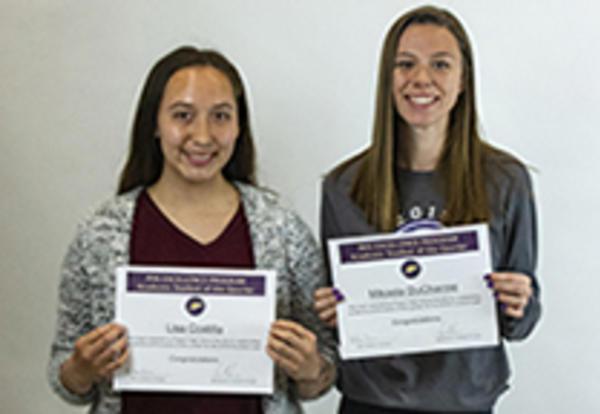 Students Receiving Award