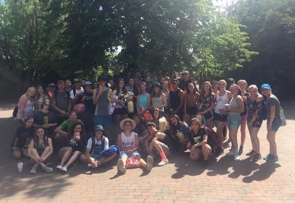 Class of 2023 Silverwood trip