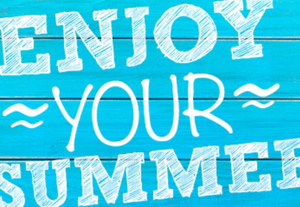 Enjoy your summer clip art