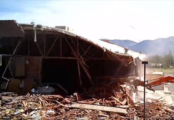 Linderman Gym Demo Time-Lapse Video