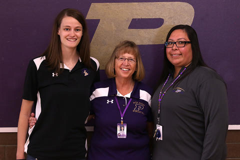 Polson High School Counseling staff