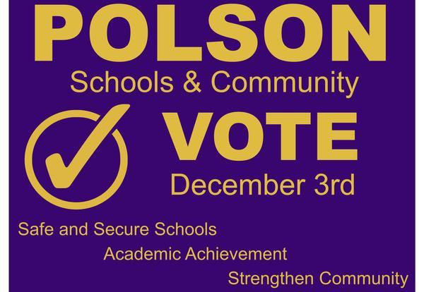 Vote Sign for Bond Election