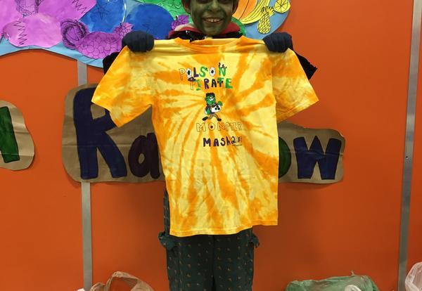 Image of Monster Mash T-Shirt Design Winner Jack Huffine!