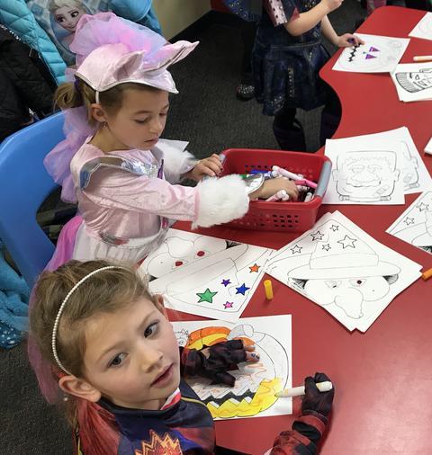 Kids halloween activities - Photo #11
