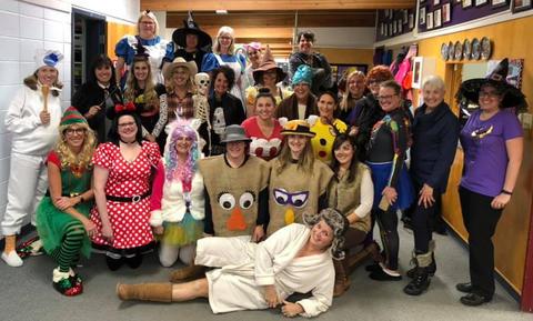 Staff in Costume - Photo #2