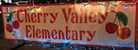 Cherry Valley Sign