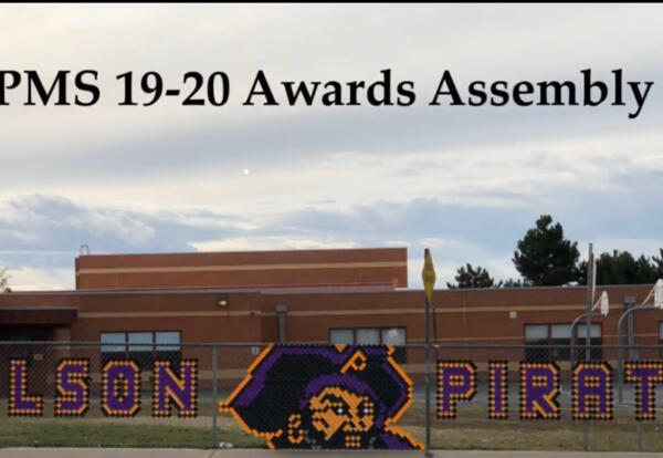 Drum roll please! 2019-2020 Award Assembly