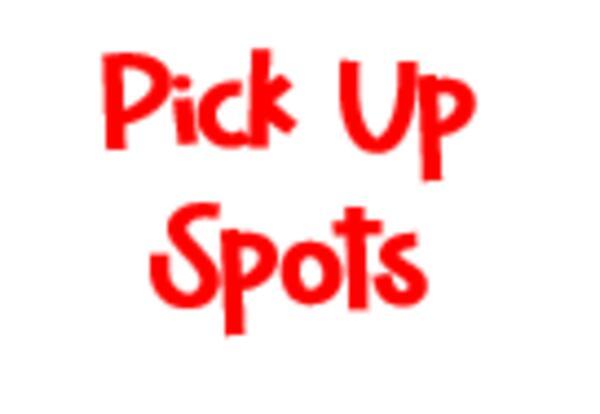 Pick Up Spots Map