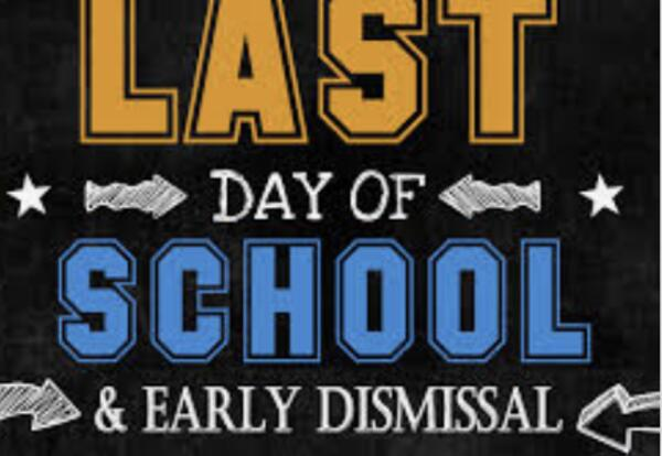 Last day of school clipart