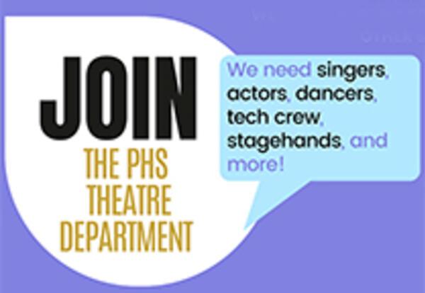 PHS Theater opportunites