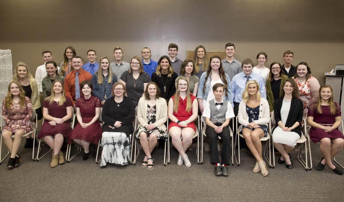 National Technical Honors Inductees Photo