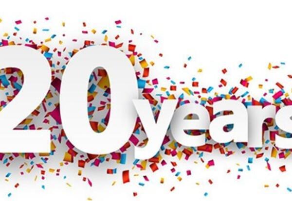 Celebration of 20 years!
