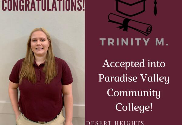 Congratulations Trinity!